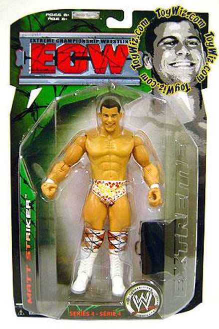 ECW Wrestling ECW Series 4 Matt Striker Action Figure