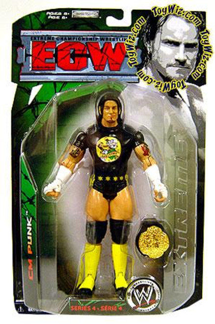 ECW Wrestling ECW Series 4 CM Punk Action Figure