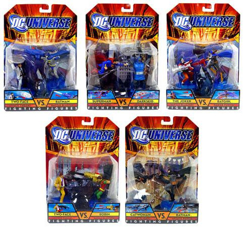 DC Universe Fighting Figures Set of 5 Action Figures