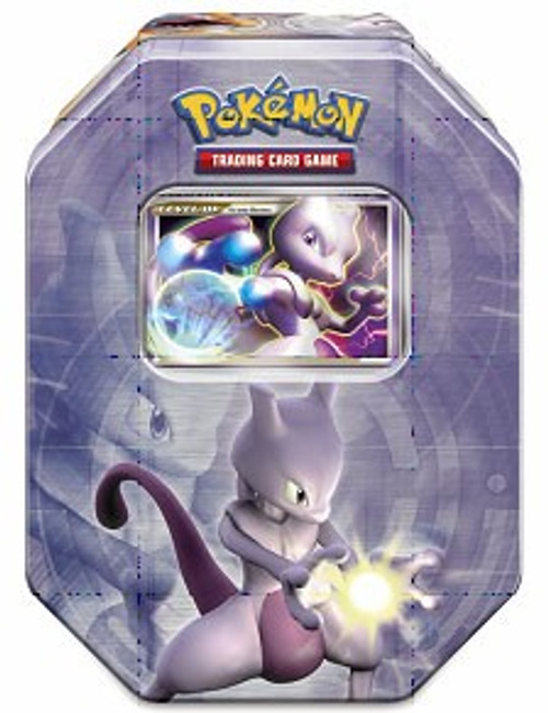 Pokemon 2008 Holliday Series 1 Level-Up Mewtwo Collector Tin