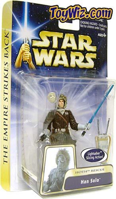 Star Wars The Empire Strikes Back Basic 2004 Han Solo Action Figure #13 [Hoth Rescue]