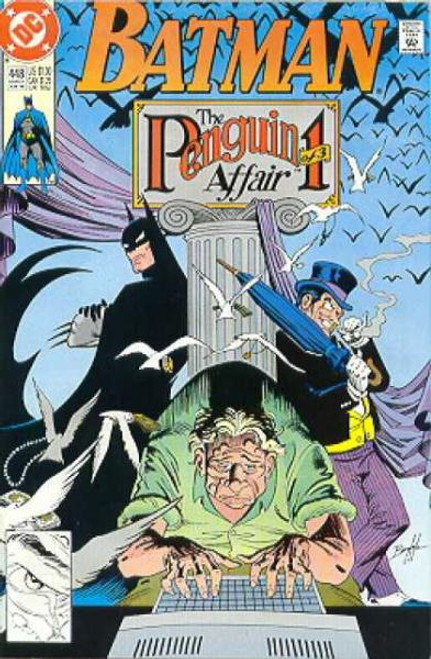 Batman Comic Book #448