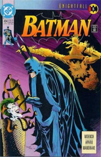 Batman Knightfall Comic Book #494