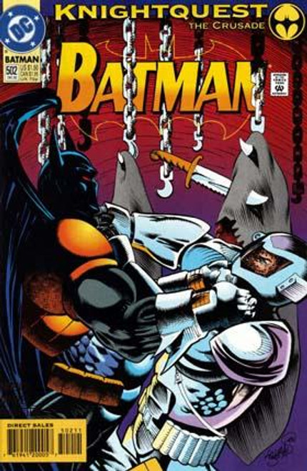 Batman Knightquest the Crusade Comic Book #502