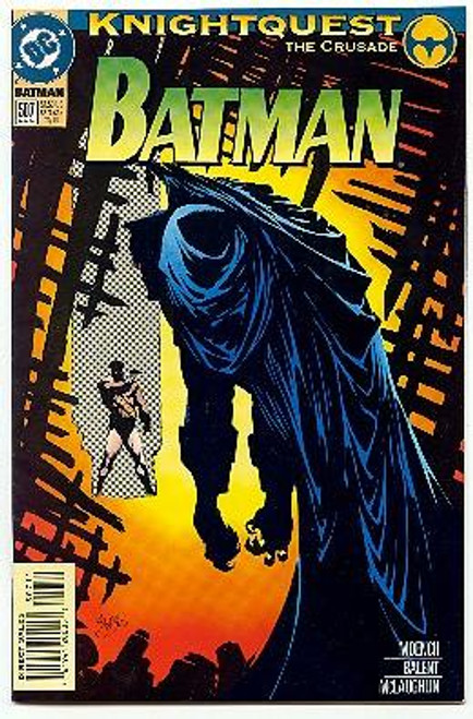 Batman Knightquest the Crusade Comic Book #507