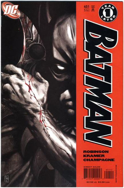 Batman Comic Book #651