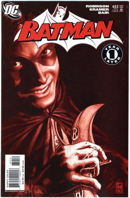 Batman Comic Book #652