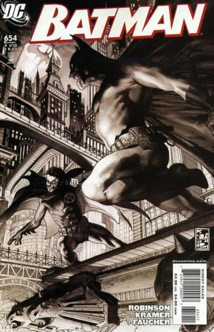 Batman Comic Book #654