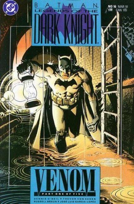 Batman: Legends of the Dark Knight Comic Book #16