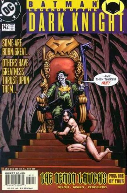 Batman: Legends of the Dark Knight Comic Book #142