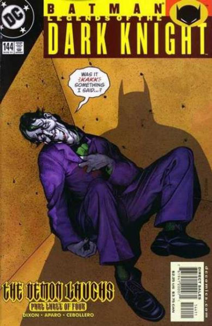 Batman: Legends of the Dark Knight Comic Book #144