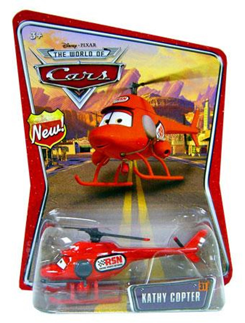 Disney Cars The World of Cars Series 1 Kathy Copter Diecast Car