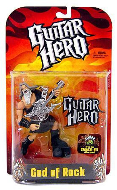 McFarlane Toys Guitar Hero God of Rock Action Figure [Black Robe]