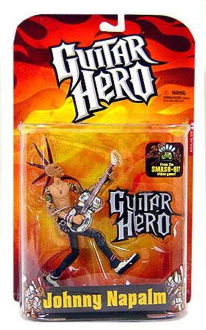 McFarlane Toys Guitar Hero Johnny Napalm Action Figure [Brown Mohawk]