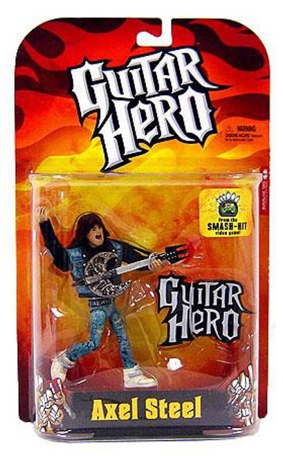 McFarlane Toys Guitar Hero Axel Steel Action Figure [Flame Shirt]