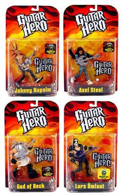 McFarlane Toys Guitar Hero Set of 4 Action Figures