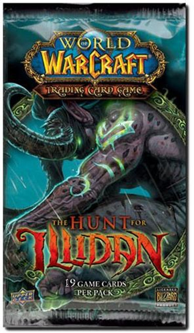 World of Warcraft Trading Card Game The Hunt for Illidan Booster Pack