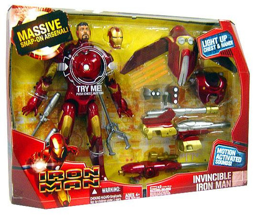 Invincible Iron Man 12 Inch Action Figure