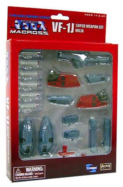 Robotech Macross VF-1J Super Weapon Set [Milia]