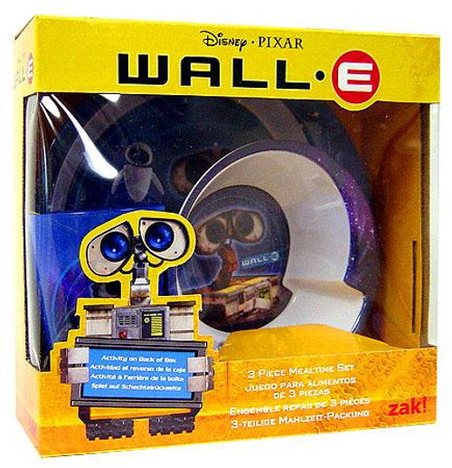 Disney / Pixar Wall-E 3-Piece Mealtime Set