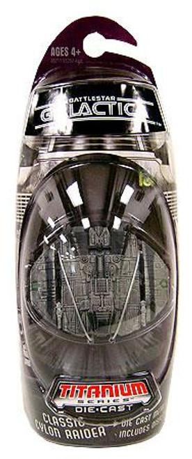 Battlestar Galactica Titanium Series Classic Cylon Raider Diecast Vehicle