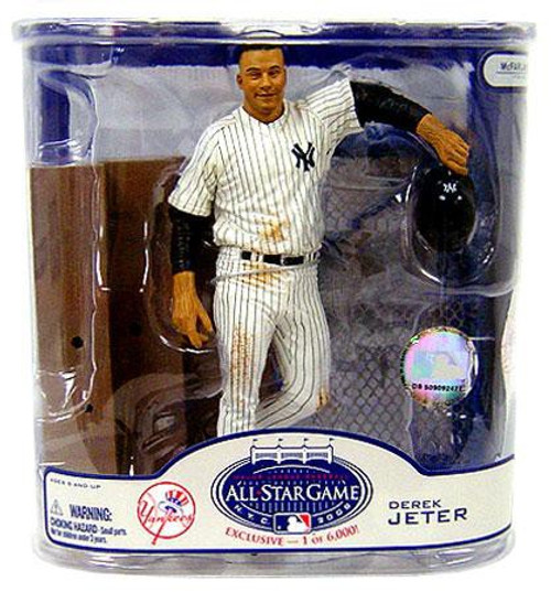 McFarlane Toys MLB New York Yankees Sports Picks Exclusive Derek Jeter Exclusive Action Figure