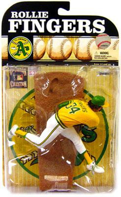 McFarlane Toys MLB Oakland A's Cooperstown Collection Series 6 Rollie Fingers Action Figure