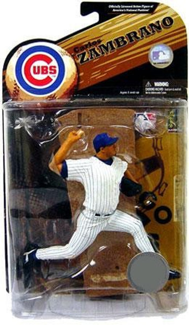 McFarlane Toys MLB Chicago Cubs Sports Picks Series 23 Exclusive Carlos Zambrano Exclusive Action Figure