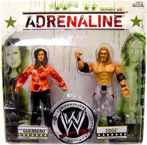 WWE Wrestling Adrenaline Series 33 Vickie Guerrero & Edge Action Figure 2-Pack