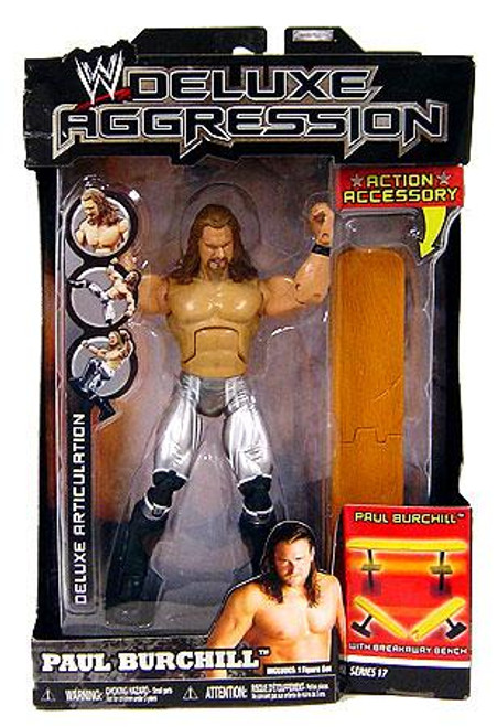 WWE Wrestling Deluxe Aggression Series 17 Paul Burchill Action Figure