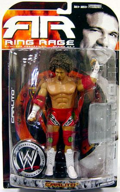 WWE Wrestling Ruthless Aggression Series 35.5 Ring Rage Carlito Action Figure