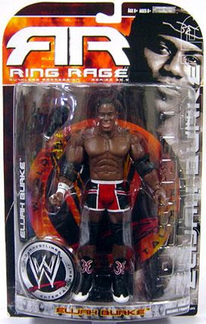 WWE Wrestling Ruthless Aggression Series 35.5 Ring Rage Elijah Burke Action Figure