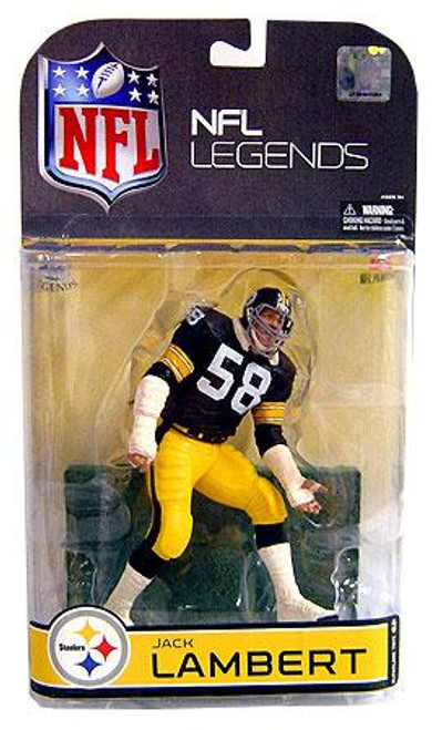 McFarlane Toys NFL Sports Picks Legends Series 4 Jack Lambert (Pittsburgh Steelers) Action Figure [Gray Face Mask Variant]