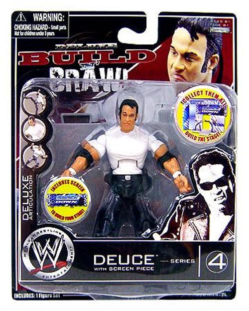 WWE Wrestling Build N' Brawl Series 4 Deuce Action Figure
