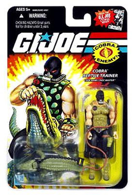 GI Joe Wave 10 Croc Master Action Figure