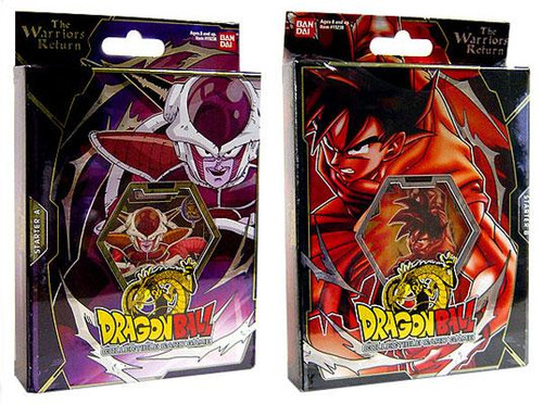 Dragon Ball Collectible Card Game Set of 2 Warriors Return Theme Decks