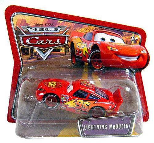 Disney Cars The World of Cars Series 1 Lightning McQueen Diecast Car [Checkout Lane Package]