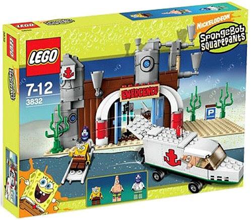 LEGO Spongebob Squarepants Emergency Room Set #3832