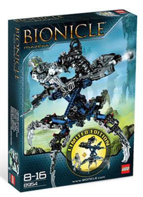 LEGO Bionicle Mazeka Exclusive Set #8954