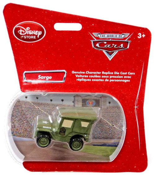 Disney Cars 1:48 Single Packs Sarge Exclusive Diecast Car