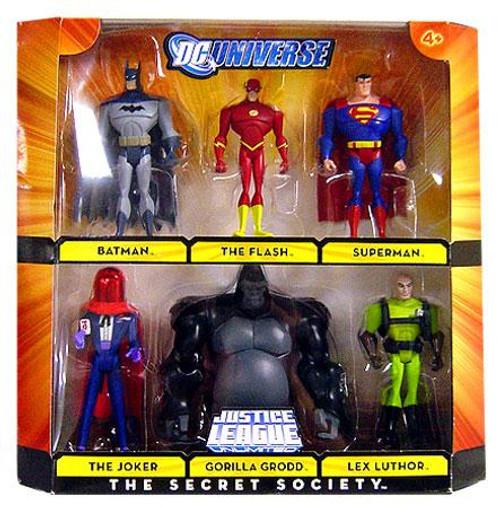 DC Universe Justice League Unlimited The Secret Society Exclusive Action Figure Set