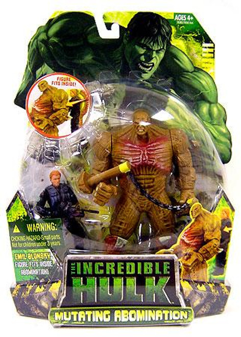 The Incredible Hulk Movie Mutating Abomination Exclusive Action Figure 2-Pack