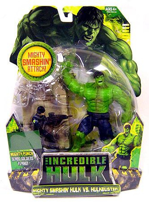The Incredible Hulk Movie Mighty Smashin' Hulk vs. Hulkbuster Exclusive Action Figure 2-Pack