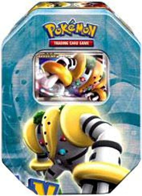 Pokemon 2008 Holliday Series 2 Level-Up Regigigas Collector Tin