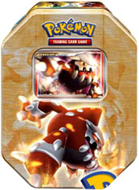 Pokemon 2008 Holliday Series 2 Level-Up Heatran Collector Tin