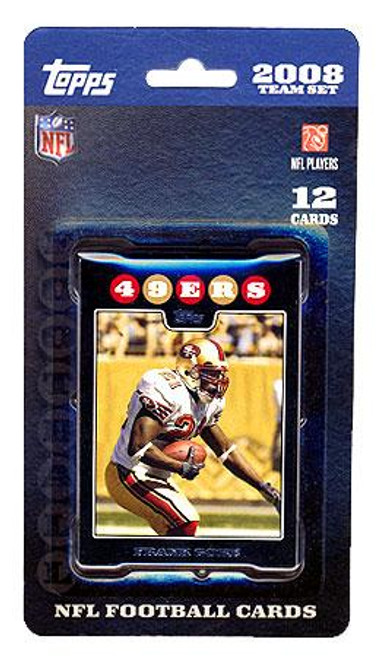 NFL 2008 Topps Football Cards San Francisco 49ers Team Set
