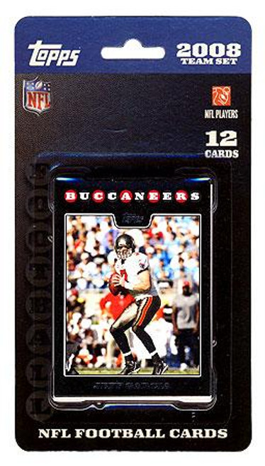 NFL 2008 Topps Football Cards Tampa Bay Buccaneers Team Set