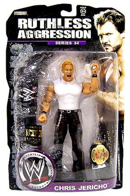 WWE Wrestling Ruthless Aggression Series 34 Chris Jericho Action Figure [Limited Edition]