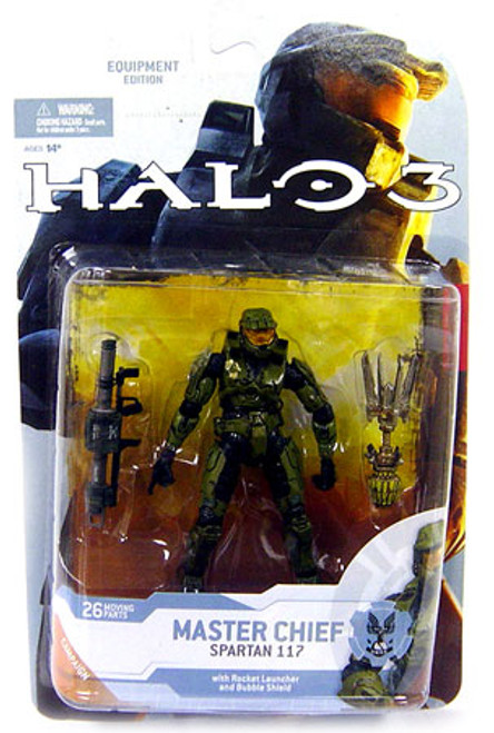 McFarlane Toys Halo 3 Series 4 Master Chief Spartan 117 Action Figure
