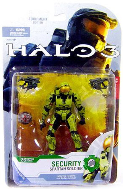 McFarlane Toys Halo 3 Series 4 Spartan Soldier Security Action Figure [Olive]